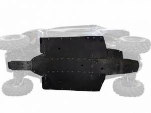 UTV Frame/ Chassis - Skid Plates - SuperATV - Can-Am Maverick Trail Full Skid Plate