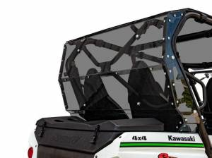 UTV Windshield - Rear Windshields - SuperATV - Kawasaki Teryx 4 Rear Windshield