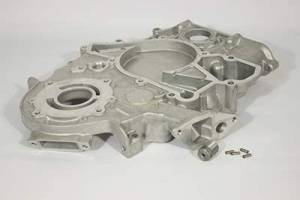 Engine Parts - Miscellaneous Maintenance Items - Ford Genuine Parts - Ford Motorcraft Front Cover, Ford (1996) 7.3L Power Stroke