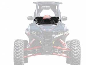 UTV Windshield - Half Windshields - SuperATV - Polaris RZR RS1 Half Windshield (Standard Polycarbonate) - Dark Tint