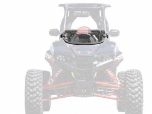 UTV Windshield - Half Windshields - SuperATV - Polaris RZR RS1 Half Windshield (Standard Polycarbonate)- Clear