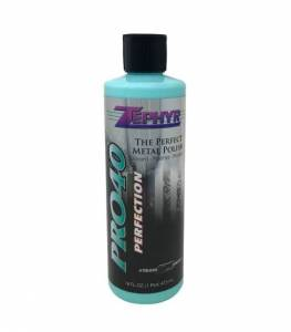 Vehicle Care Products - Zephyr - Zephyr Pro 40 Perfection Metal Polish Signature Series 16oz