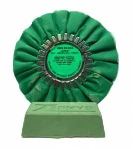 "Vehicle Care Products - Zephyr - Hall Green Airway Buff 8"" with 1 lb Green Chrome Bar"