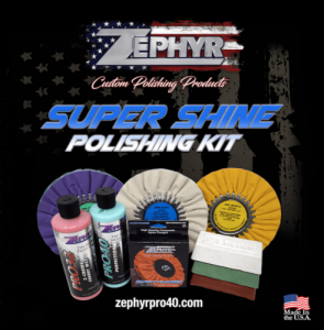 Vehicle Care Products - Zephyr - Super Shine Polishing Kit