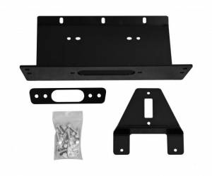 Winches - Winch Accessories & Parts - SuperATV - Polaris Ranger XP 500/ 800,  Winch Mounting Plate