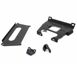 Winches - Winch Accessories & Parts - SuperATV - Polaris Ranger XP Turbo, Winch Mounting Plate (2017-18)
