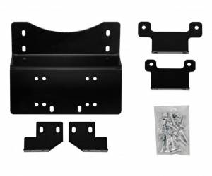 Winches - Winch Accessories & Parts - SuperATV - Honda Pioneer 700 Winch Mounting Plate