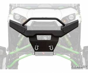 UTV Accessories - UTV Bumpers - SuperATV - Kawasaki Teryx Winch Ready Front Bumper (Sheet Metal)