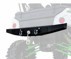 UTV Accessories - UTV Bumpers - SuperATV - Kawasaki Teryx 4 Winch Ready Rear Bumper