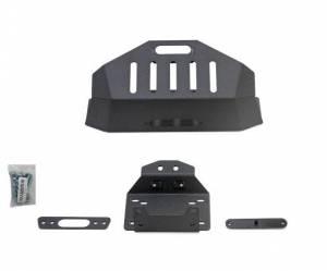 Winches - Winch Accessories & Parts - SuperATV - Polaris RZR XP Turbo S Winch Mount (Mounts To Stock Bumper)
