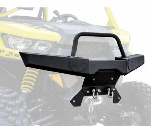 UTV Accessories - UTV Bumpers - SuperATV - Can-Am Defender Winch Ready Front Bumper (2016-2019)