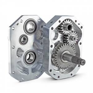"Portals - Can Am  - HighLifter - High Lifter, Portal Gear Lift 6"" Can-Am X3 MAX - 45% Gear Reduction (Single Idler Version)"