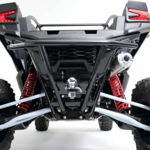 HMF Racing - HMF, Kawasaki Teryx KRX 1000, Defender Rear Bumper (With Hitch Receiver)