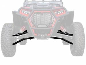 UTV/ATV - UTV Radius Arms - SuperATV - Polaris RZR XP Turbo S High-Clearance A Arms (Black)