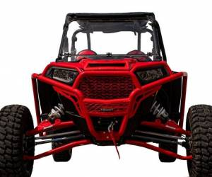 "UTV/ATV - UTV Radius Arms - SuperATV - Polaris RZR XP Turbo 3"" Long Travel Kit—Chromoly Tubed (Red)"