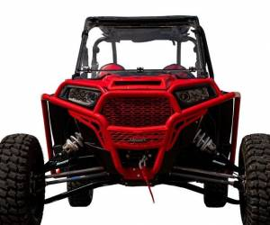 "UTV/ATV - UTV Radius Arms - SuperATV - Polaris RZR XP Turbo 3"" Long Travel Kit—Chromoly Tubed (Black)"