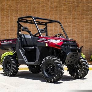 "S3 Powersports - S3 POWER SPORTS, Polaris Ranger 3"" Bracket Lift Kit (Black)"