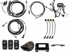 UTV Accessories - SuperATV - Can-Am Defender (2020+) Plug & Play Turn Signal Kit (Deluxe Plug and Play)