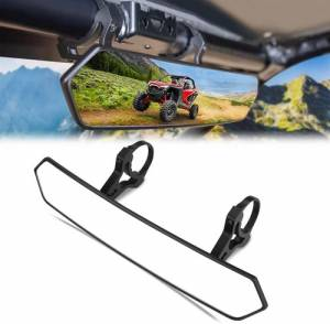 "Holiday Super Savings Sale! - APEX Powersports Products Sale Items - APEX Powersports Products - APEX Rear View Mirror, 1.65""-2"" Clamp"