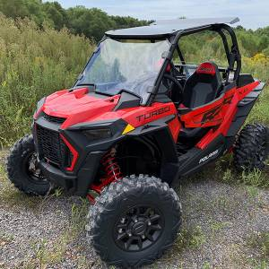 UTV Windshield - Full/ Vented Windshields - HighLifter - High Lifter, Windshield Scratch Resistant, Polaris RZR, 2019-2020 (Not Tinted)