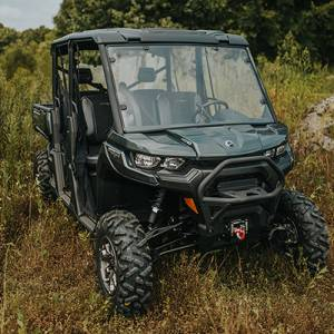 UTV Windshield - Full/ Vented Windshields - HighLifter - High Lifter, Windshield Can-Am Defender, Scratch Resistant (Not Tinted, Not Vented)