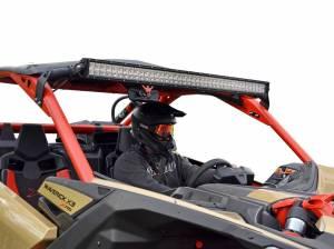 """UTV Accessories - Light Bar Mounts/ Whips Light/ Bar Mounts - SuperATV - Can-Am Maverick X3 Light Bar Mounting Kit With 40"""" Light Bar"""