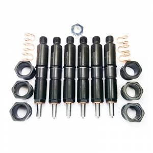Dynomite Diesel - Dynomite Diesel Fuel Injector Set, Dodge (1994-98) 5.9L 12v Cummins, Stage 2 (550HP)