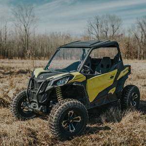UTV Windshield - Full/ Vented Windshields - HighLifter - High Lifter, Windshield Can-Am Maverick Trail, Scratch Resistant (Not Tinted)