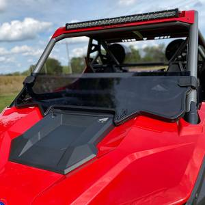 HighLifter - High Lifter,  Half Windshield Scratch Resistant, Polaris RZR PRO, 2020 (Not Tinted)