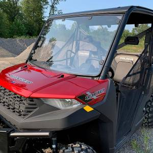 UTV Windshield - Full/ Vented Windshields - HighLifter - High Lifter, Windshield Shatter Resistant, Polaris Ranger Full Size 900/1000, 2013-21 (Tinted and Vented)