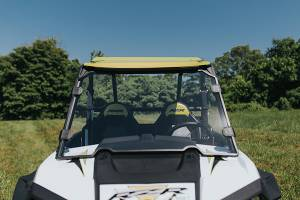UTV Windshield - Full/ Vented Windshields - HighLifter - High Lifter, Windshield Scratch Resistant, Polaris RZR, 2014-2018 (Not Tinted)