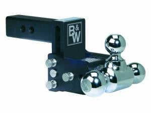 "B&W Trailer Hitches - B&W Tow & Stow Hitch for 2"" Receiver, 3"" drop - 3.5"" rise (1-7/8"" x 2"" x 2-5/16"")"