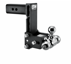 "Towing & Recovery - 2.5"" Hitches - B&W Trailer Hitches - B&W Tow & Stow Hitch for 2.5"" Receiver, 7"" drop - 7.5"" rise (1-7/8"" x 2"" x 2-5/16"")"