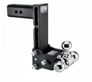"Towing & Recovery - 2.5"" Hitches - B&W Trailer Hitches - B&W Tow & Stow Hitch for 2.5"" Receiver, 9"" drop - 9.5"" rise (1-7/8"" x 2"" x 2-5/16"")"