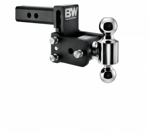 "Towing & Recovery - 3"" Hitches - B&W Trailer Hitches - B&W Tow & Stow Hitch for 3"" Receiver, 5"" drop - 5.5"" rise (2"" and 2-5/16"")"