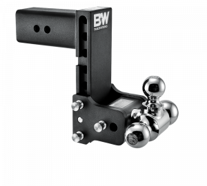 "Towing & Recovery - 3"" Hitches - B&W Trailer Hitches - B&W Tow & Stow Hitch for 3"" Receiver, 7"" drop - 7.5"" rise (1-7/8"" x 2"" x 2-5/16"")"