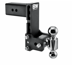 "Towing & Recovery - 3"" Hitches - B&W Trailer Hitches - B&W Tow & Stow Hitch for 3"" Receiver, 7"" drop - 7.5"" rise (2"" and 2-5/16"")"