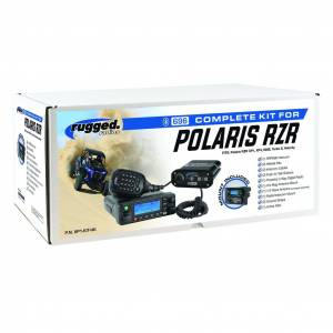 Rugged Radios - Rugged Radios Polaris RZR Complete UTV Communication System with AlphaBass Headsets