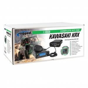 Rugged Radios - Rugged Radios Kawasaki KRX Complete Kit with Alpha Audio Helmet Kits