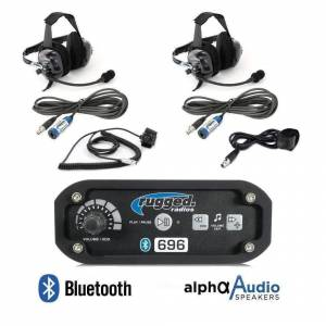 Electronic Accessories - VHF/UHF Radios - Rugged Radios - Rugged Radios RRP6962 Person Bluetooth Intercom System with Ultimate Headsets