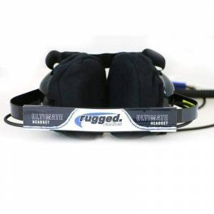 Rugged Radios - Rugged Radios H42 Behind The Head Ultimate Carbon Fiber 2-Way Headset - Image 5