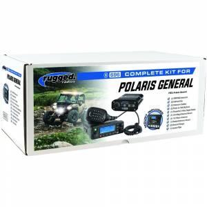 Rugged Radios - Radios Polaris General Complete UTV Communication System with OTU Headsets