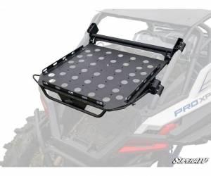 UTV Accessories - UTV Tire Racks - SuperATV - Polaris RZR PRO XP Cargo Rack