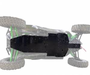 UTV Frame/ Chassis - Skid Plates - SuperATV - Kawasaki Teryx KRX 1000 Full Skid Plate