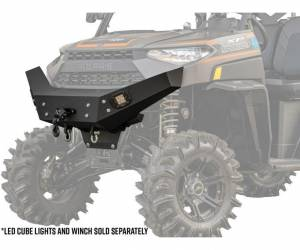 UTV Accessories - UTV Bumpers - SuperATV - Polaris Ranger XP 1000 Winch Ready Front Bumper ( 2018+ Standard Cab)