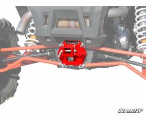 UTV Accessories - UTV Radius Plates & Hitch - SuperATV - Polaris RZR XP 1000 Rear Receiver Hitch (16mm)
