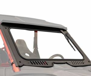 UTV Windshield - Full/ Vented Windshields - SuperATV - Honda Talon 1000 Glass Windshield