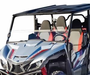 Yamaha Wolverine X2 Half Windshield, Standard Polycarbonate Clear (2018-2020)