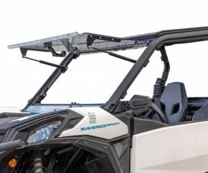 Can-Am Maverick Trail Scratch Resistant Flip Windshield