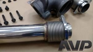 AVP - AVP Bellowed Stainless Up-Pipe Kit, Ford (1999.5-03) 7.3L Power Stroke - Image 4